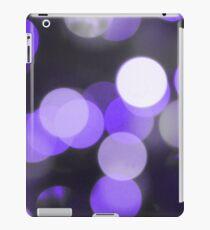 Bubbles of Light  Indigo iPad Case/Skin