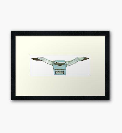 M Blackwell - Typeflyer... Framed Print