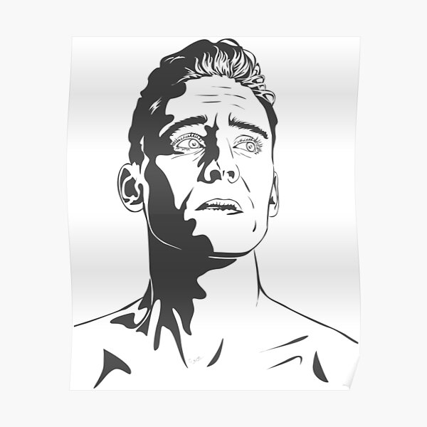 Tom Hiddleston as Coriolanus Poster