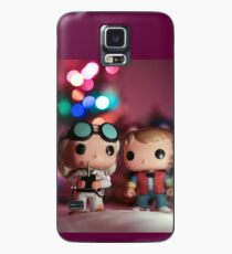 Christmas with Marty and Doc Case/Skin for Samsung Galaxy