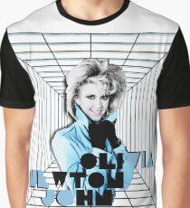 Olivia Newton-John - Desperate Times 1984 Graphic T-Shirt