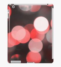 Bubbles of Light  Red iPad Case/Skin