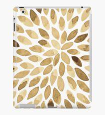 Watercolor brush strokes - neutral iPad Case/Skin