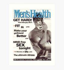 M Blackwell - Men's Health... Art Print