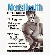 M Blackwell - Men's Health... Photographic Print