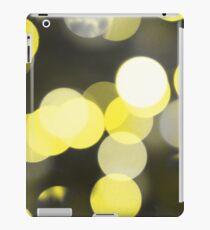 Bubbles of Light  Yellow iPad Case/Skin