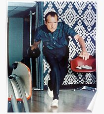 Richard Nixon Bowling Poster