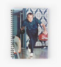 Richard Nixon Bowling Spiral Notebook
