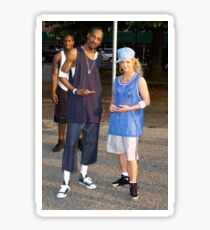 Britney Spears and Snoop Dog 90s Sticker
