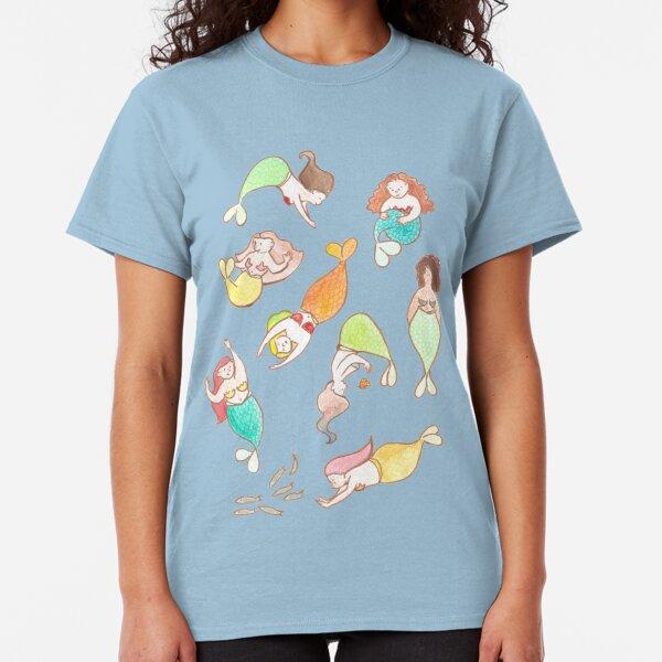 plus size mermaids Classic T-Shirt