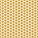 Heart Shaped Eyes Emoji Leggings by thehiphopshop