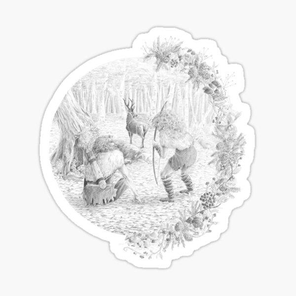 The Four Seasons of Mankind: Autumn Sticker
