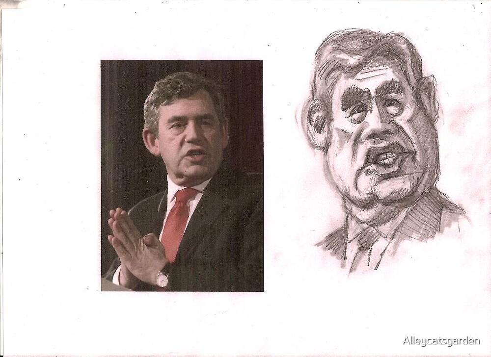 Gordon Brown quickie by Alleycatsgarden