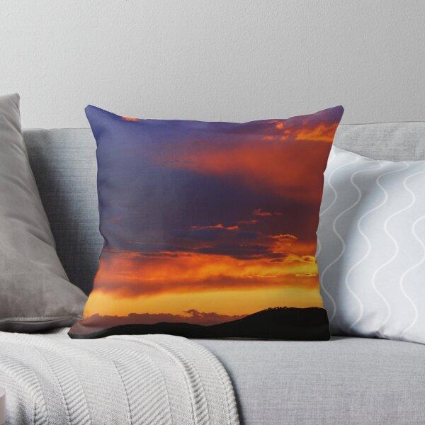 Sunset in Elba 2 Throw Pillow
