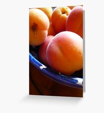 Apricots Greeting Card