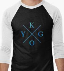 KYGO - Blue Men's Baseball ¾ T-Shirt
