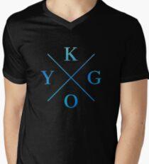 KYGO - Blue Men's V-Neck T-Shirt