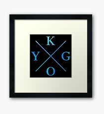 KYGO - Blue Framed Print