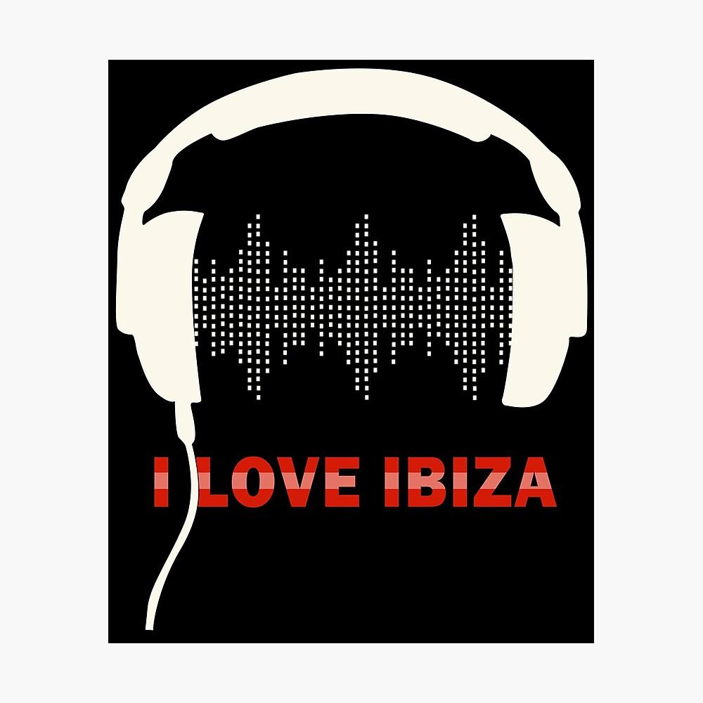Gro/ß Logo-Aufkleber Ushuaia Ibiza