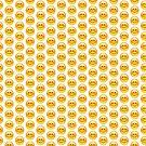 Smiley Face Emoji Leggings by thehiphopshop