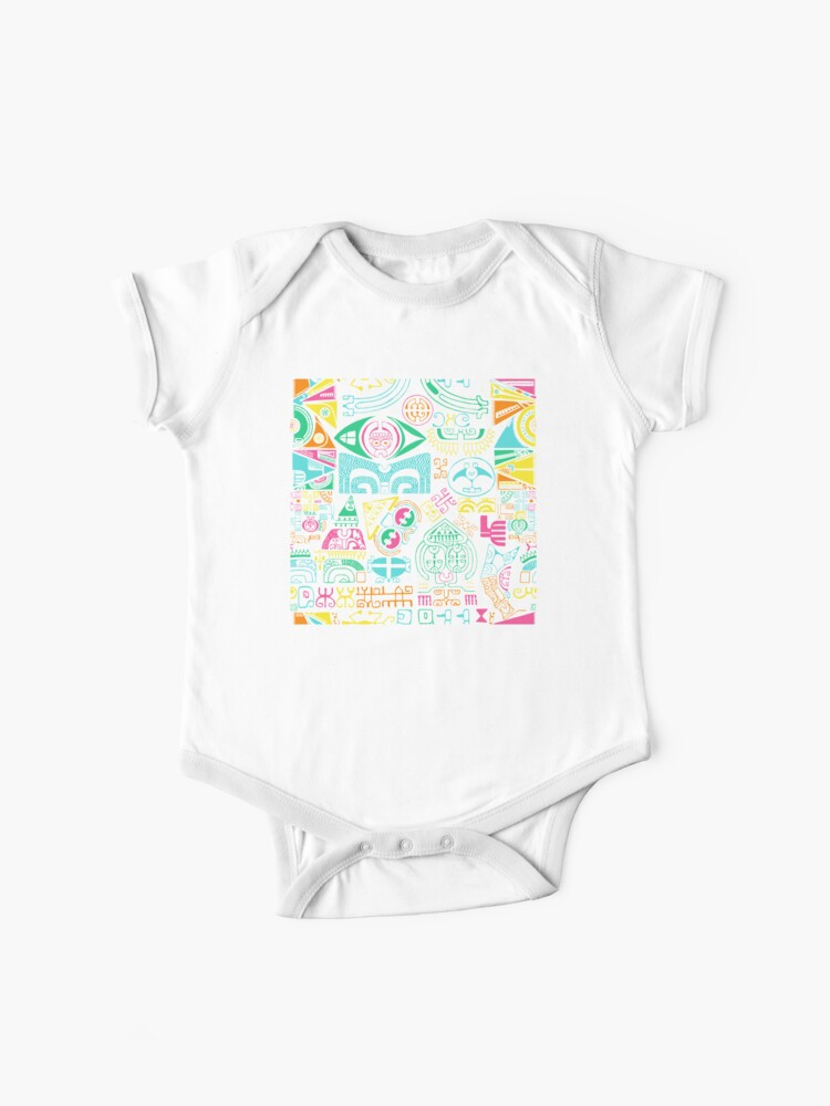 Tropical Island Tattoo Baby One Piece By B0red Redbubble