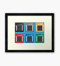 GameBoy Cartridge Framed Print