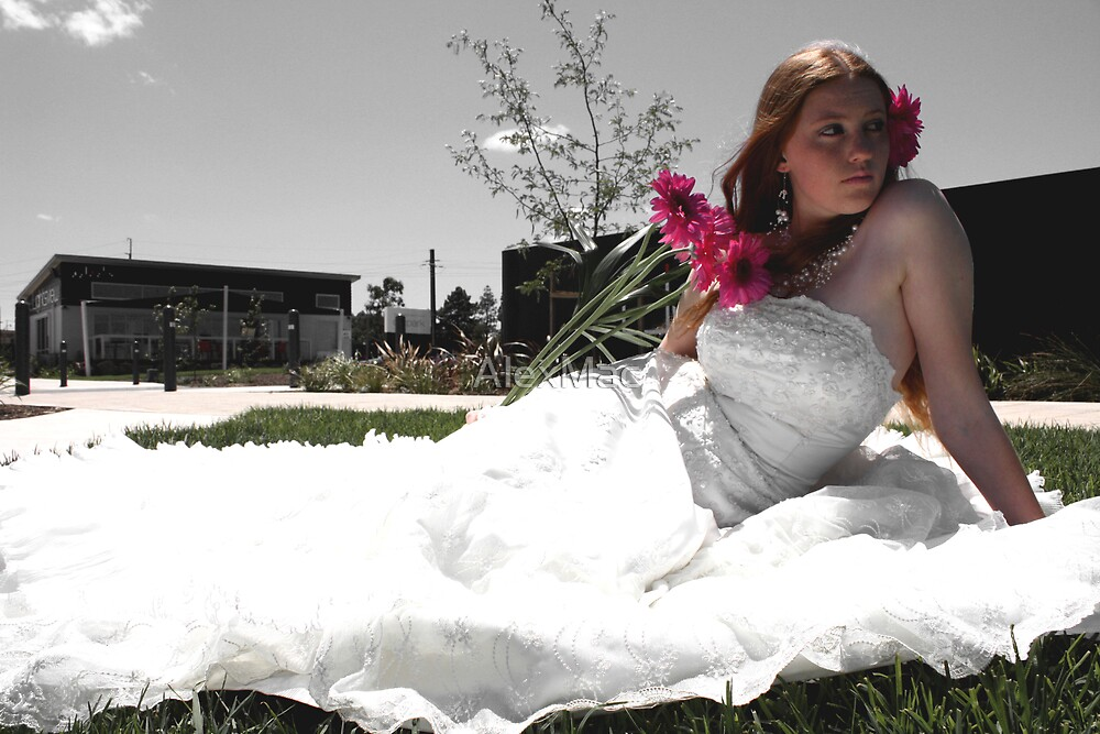 My bride by AlexMac