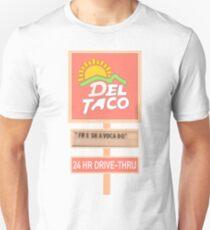 Frische Avocado-Rebe Slim Fit T-Shirt