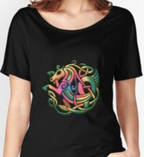 The Kelpie got a rainbow make-over. Black version Relaxed Fit T-Shirt