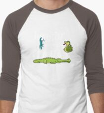 Hanging With My Reptile Friends Men's Baseball ¾ T-Shirt