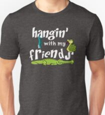 Hanging With My Reptile Friends Unisex T-Shirt