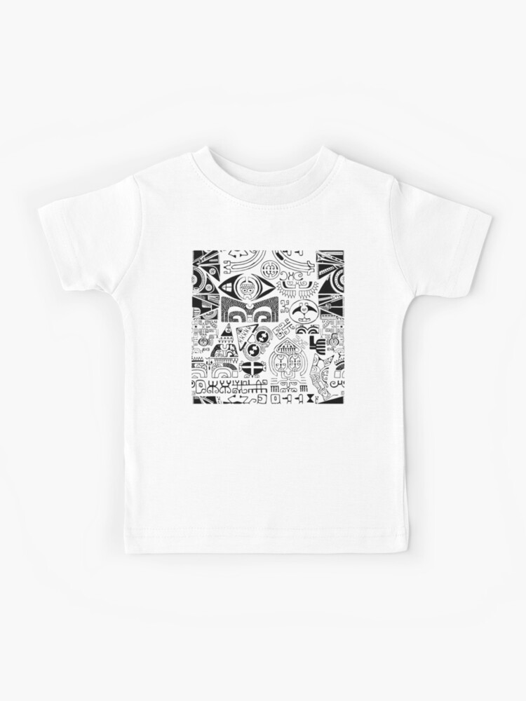 Tropical Island Tattoo Kids T Shirt By B0red Redbubble
