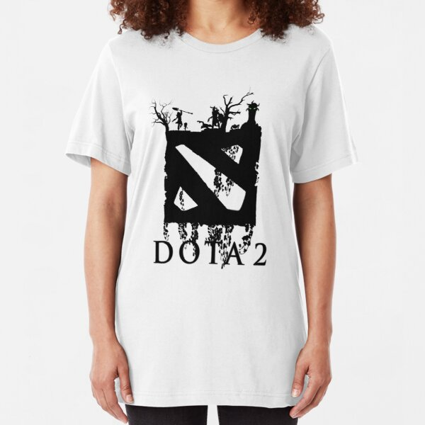 Dota 2 defence of the ancience heroes Invoker Sniper Pudge Eartshaker t-shirt