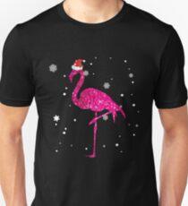 dedcaac9 Christmas Flamingo Shirt Slim Fit T-Shirt