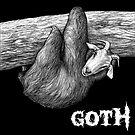 Goth, Goat + Sloth Hybrid Animal by Jessie Fox - Whatif Creations