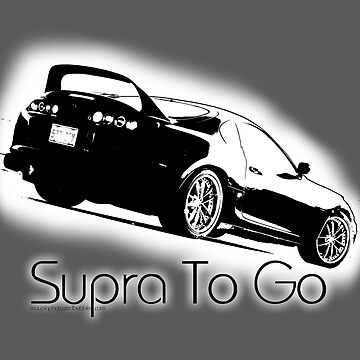 Supra To Go - T-Shirt Design by MaupinPhoto