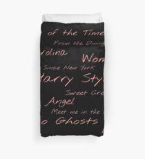Harry Styles Design Duvet Cover