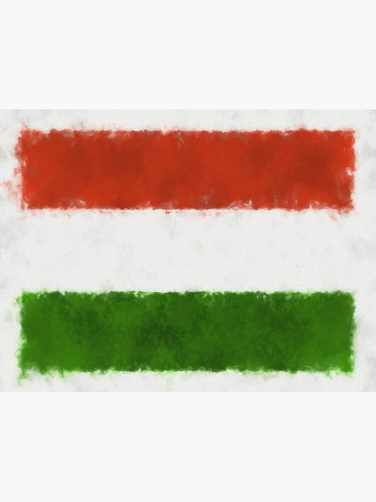 Hungary Flag Reworked No. 66, Series 5 by 8th-and-f