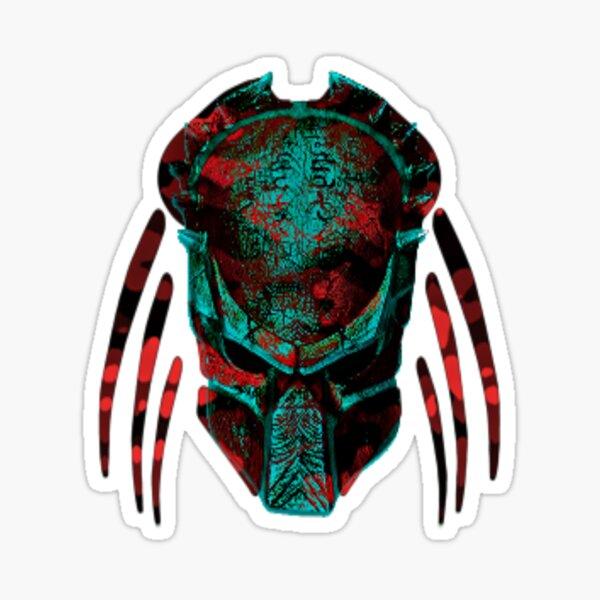 Soldat Predator Teal Red Sticker