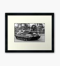 My Tank  Framed Print