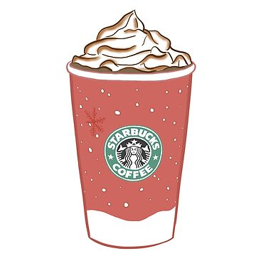 Winter Starbucks Cup by MesmericSkyline
