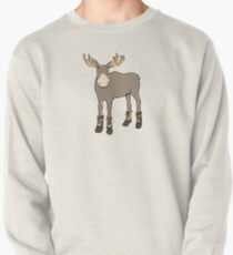 Moose in Boots Pullover