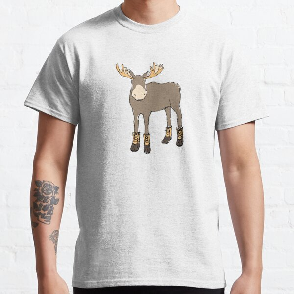 Moose in Boots Classic T-Shirt