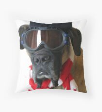 Winter Fun Throw Pillow