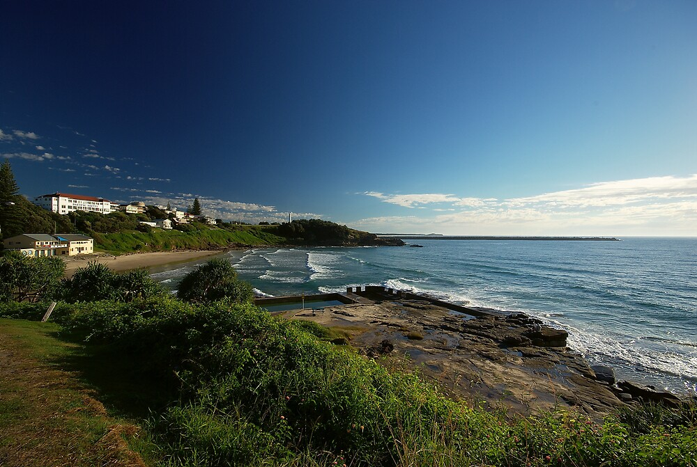 Dawn in Yamba, New South Wales by groophics