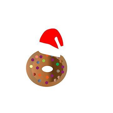 CHRISTMAS DONUTS T-SHIRT FOR NURSES by kaunjunetwork