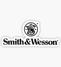 Smith And Wesson Logo Merchandise Sticker