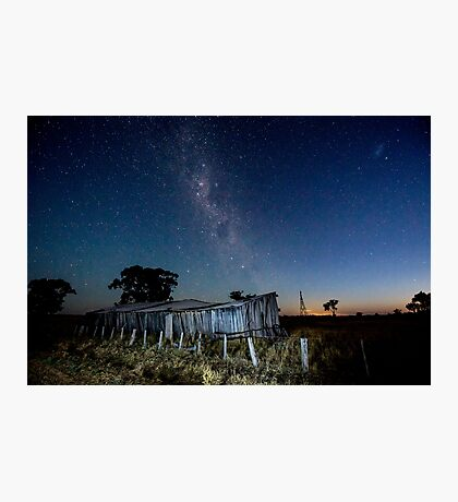 Dusk on the Stable Photographic Print