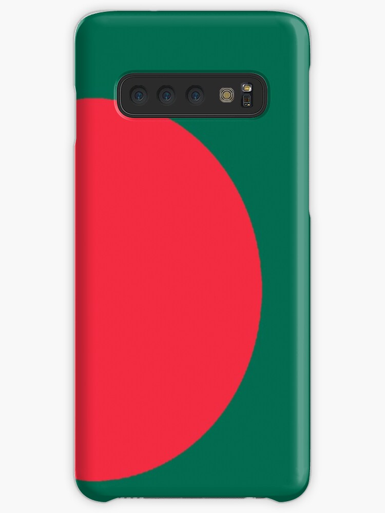 'Bangladesh, Bangladeshi Flag, Flag of Bangladesh, Bengali, BENGAL'  Case/Skin for Samsung Galaxy by TOM HILL - Designer
