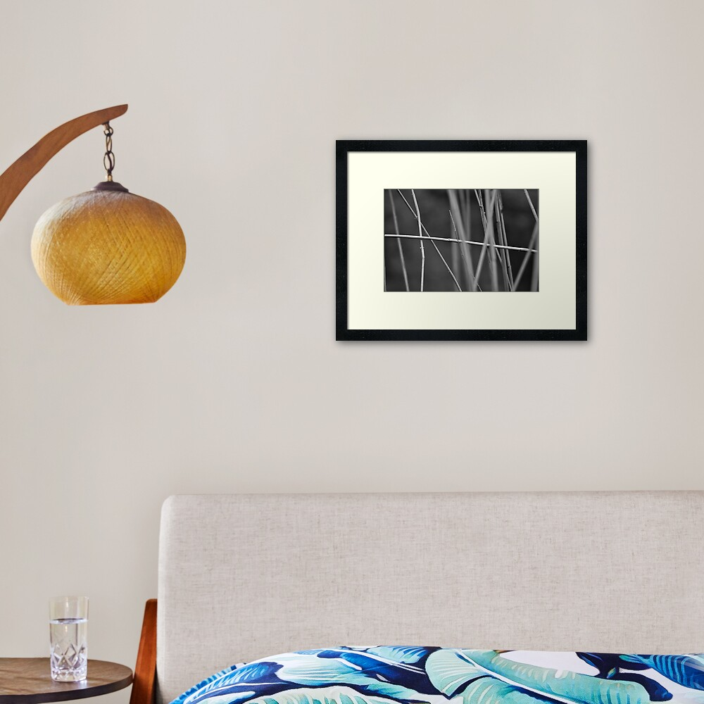 Going My Own Way Framed Art Print